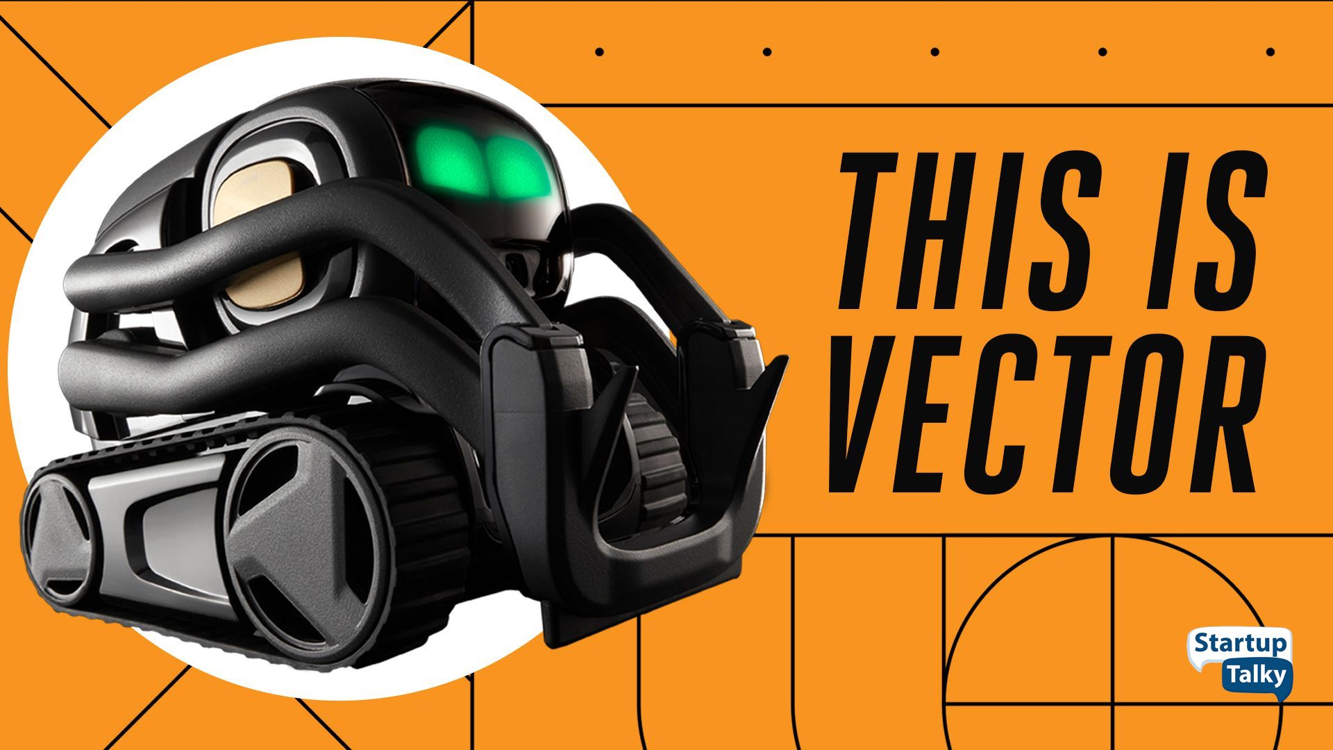 Anki's Vector Robot ready to be your digital companion.
