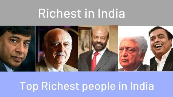 Top 50 Richest Indians In 2020