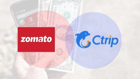 Ctrip to fund Zomato $100 million to take on Swiggy