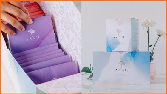 Azah - Buy chemical free, organic, ultra-soft sanitary pads