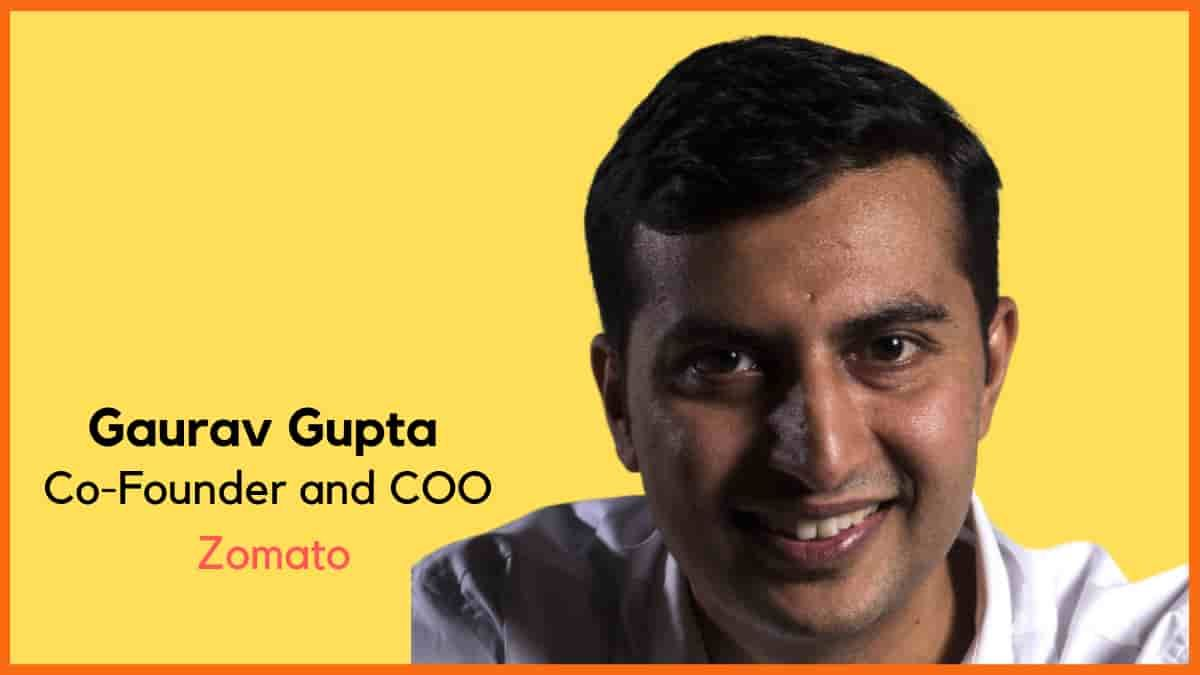 Why Zomato Elevated Gaurav Gupta from COO to Co-Founder