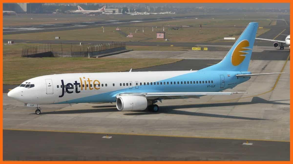 Jet Airways Case Study - JetLite Plane