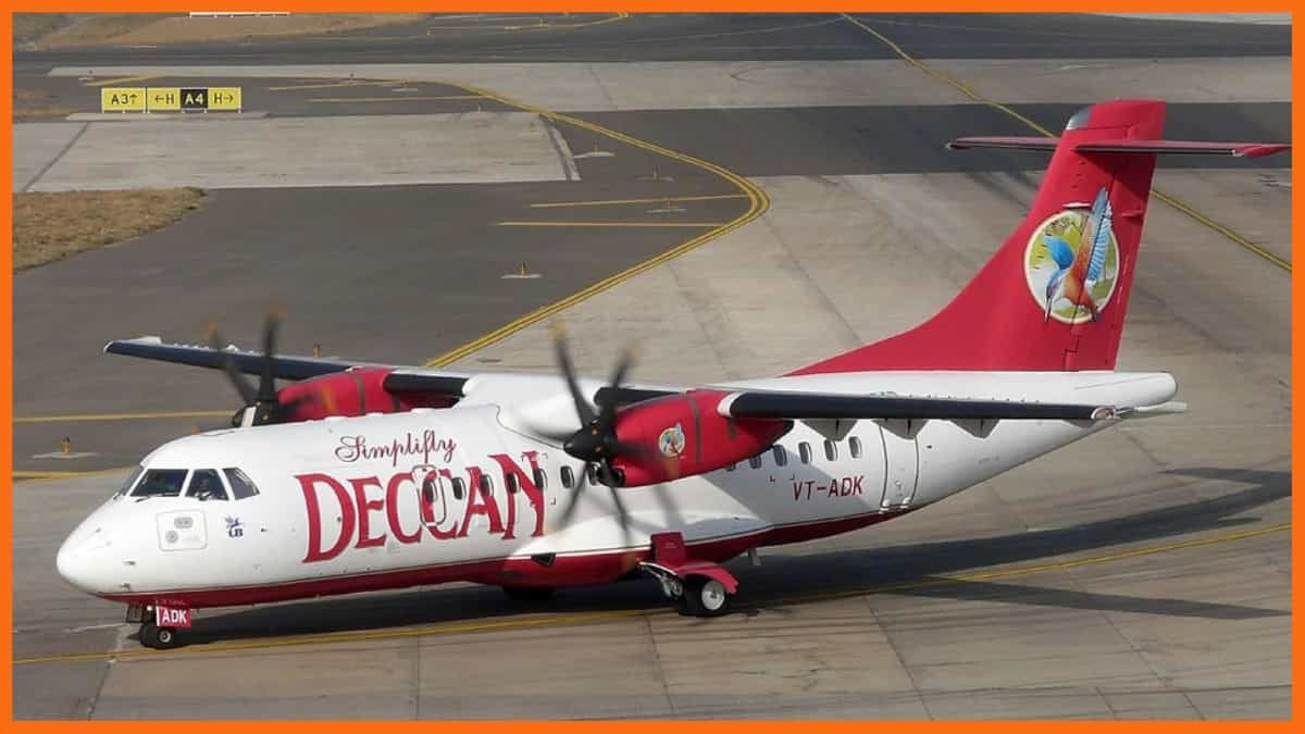 Jet Airways Case Study - Deccan Airlines Plane