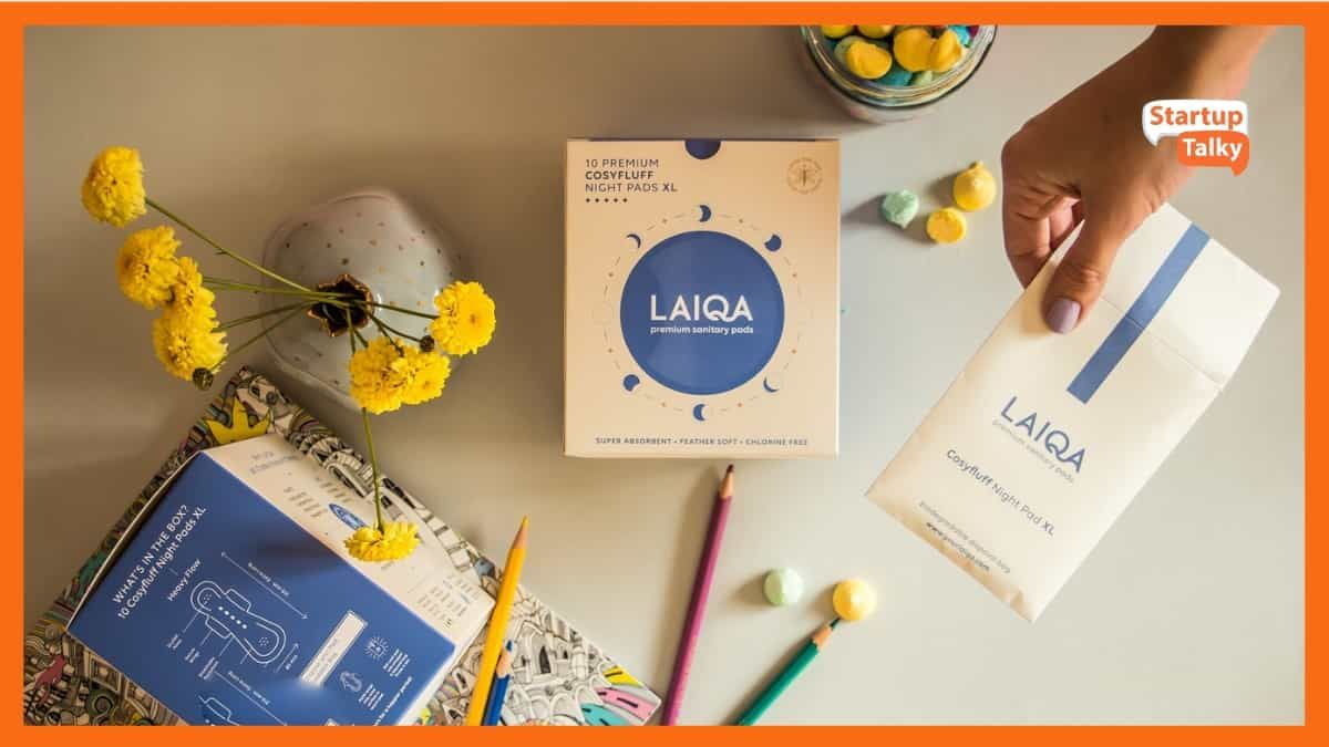 Laiqa- Soft, toxin free, biodegradable sanitary pads