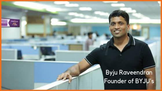 Byju Raveendran, founder of BYJU's