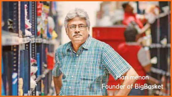 Hari Menon, founder of BigBasket