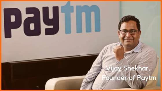 Vijay Shekhar Sharma, founder of PayTm
