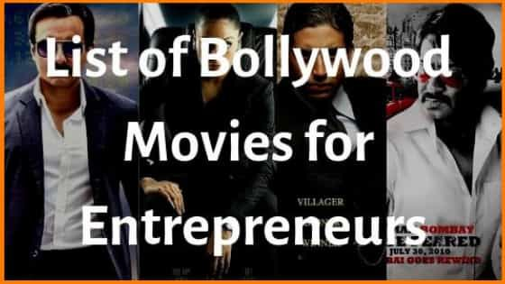 16 Bollywood Movies every Entrepreneur will Love to watch