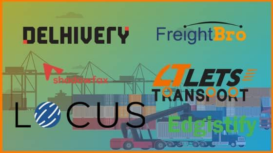 List of Top Logistics startups in India | Funded Logistics