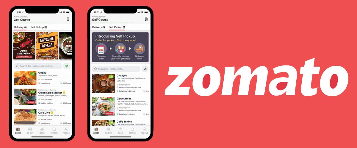 Zomato | Food Delivery App | Food Startups in India
