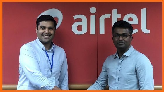 Madhav Krishna ,Founder & Chief Executive officer at Vahan, Adarsh Nair, Chief Product officer at Airtel