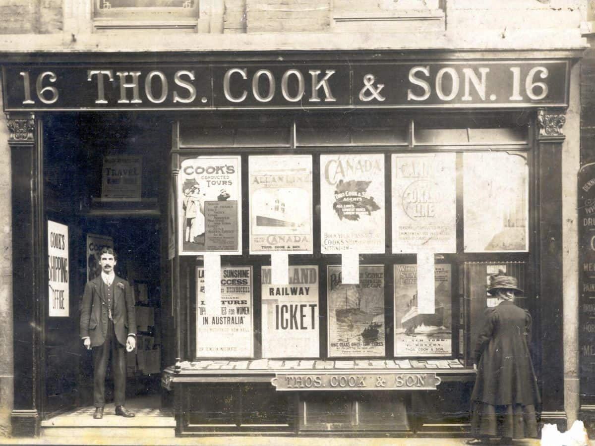 Thomas Cook & Son old office