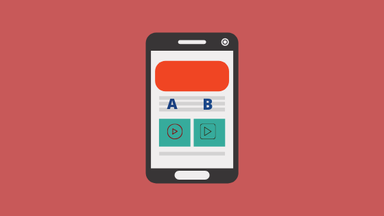 Run A/b Tests for videos