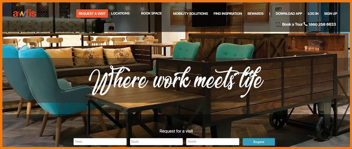 Awfis homepage