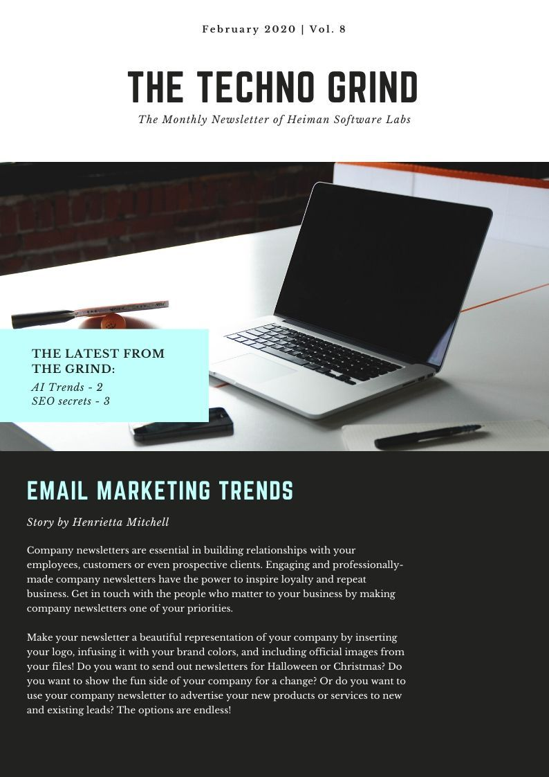 Image results of Email Newsletters Template