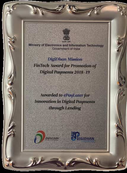 FinTech Award for Promoting Digital Payments 2019