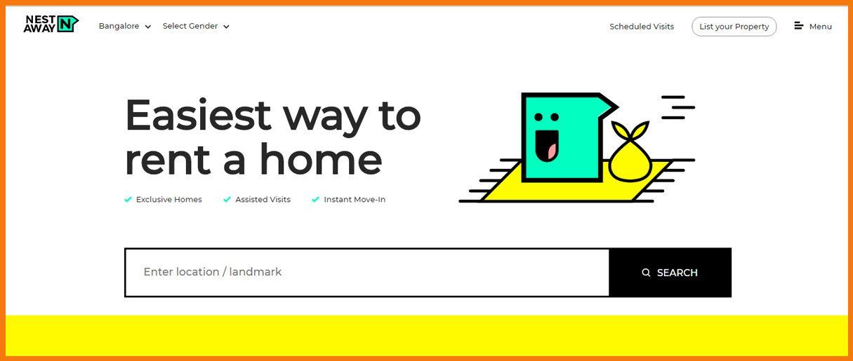NestAway Homepage