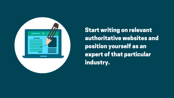 Benefits of writing guest blog