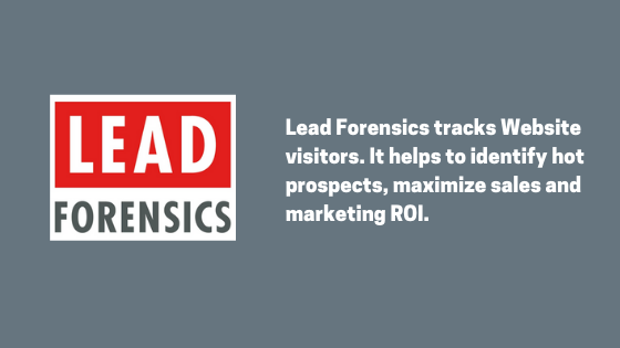 What is Lead Forensics