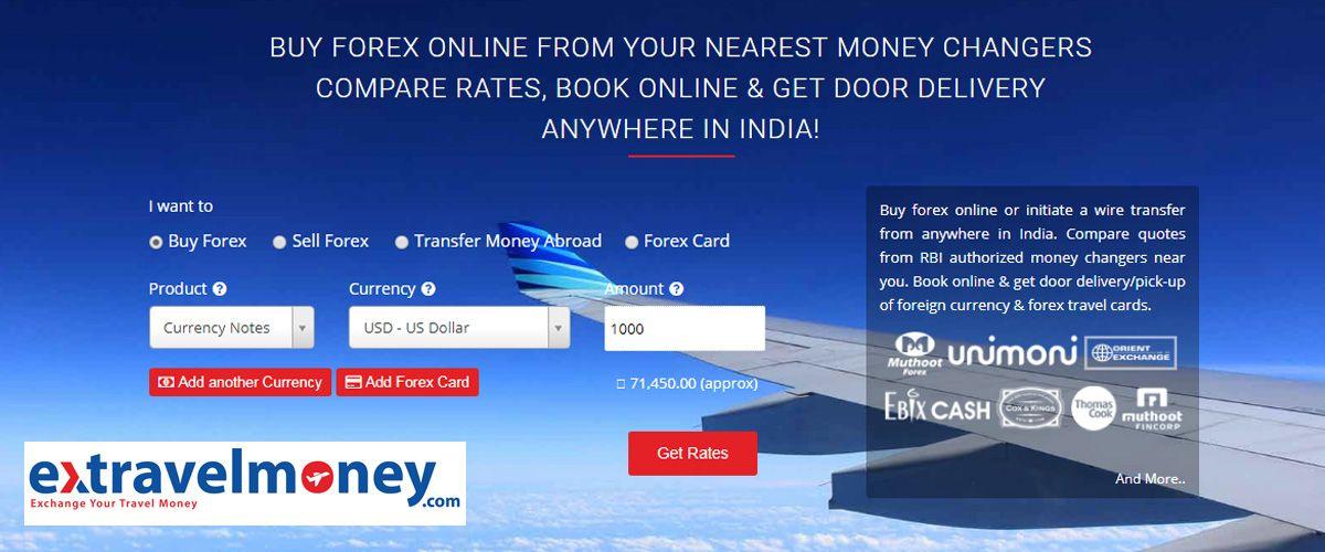Extravelmoney homepage