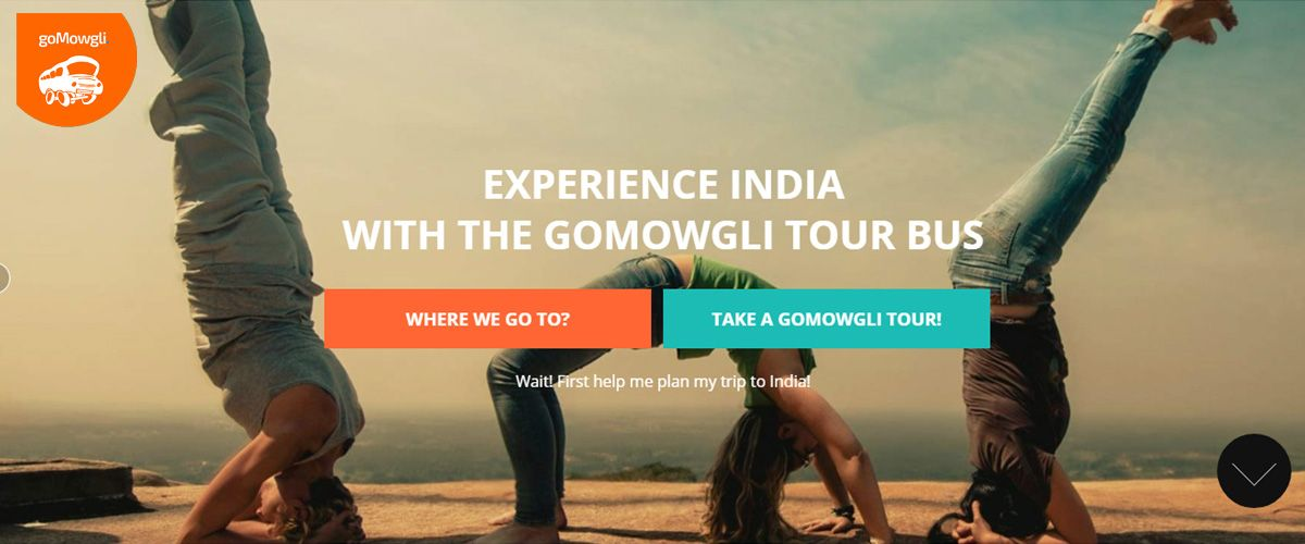 goMowgli homepage