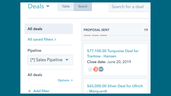 Hubspot CRM for Salesperson