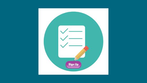 Sign Up Form - B2B Marketing