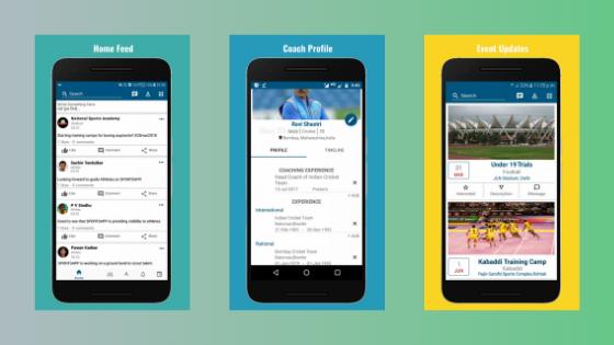 SportsApp Mobile App