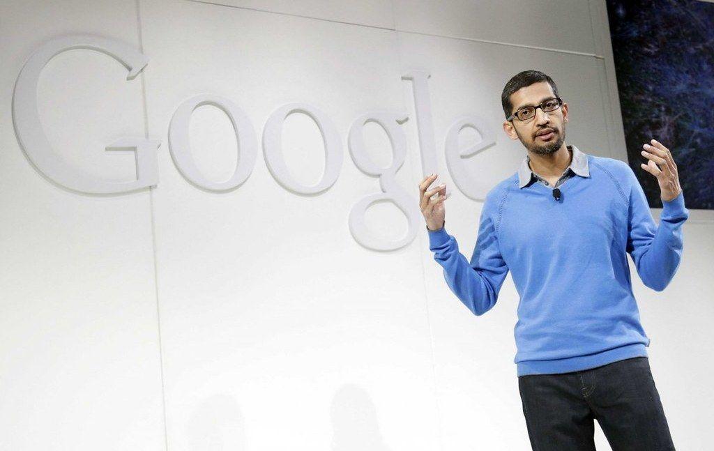 Sundar Pichai after becoming Google CEO