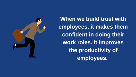 Trust Building, Trust Building with Employees