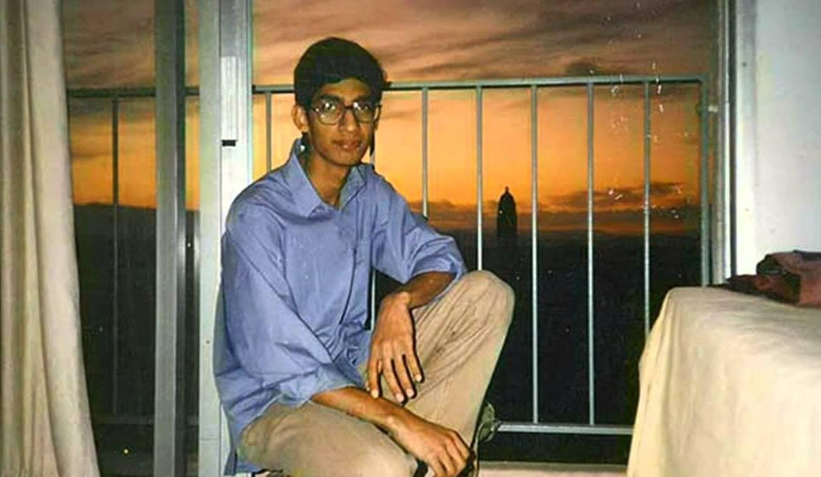 Young Sundar Pichai