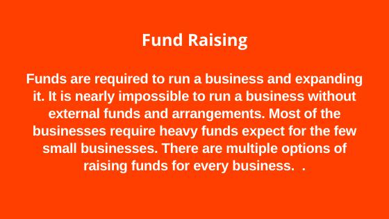 Importance of Fund Raising
