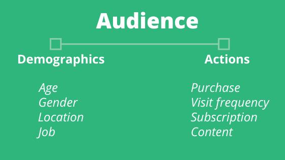 Segmentation of audience