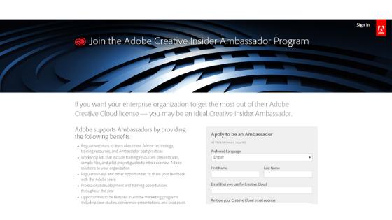 Adobe campus ambassador program