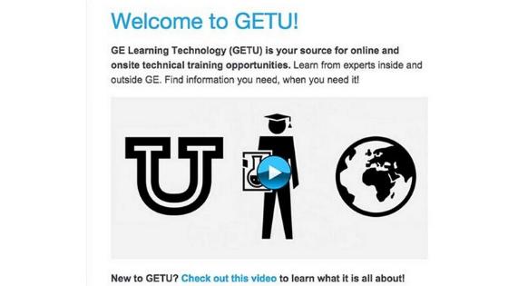 GETU's Welcome Email