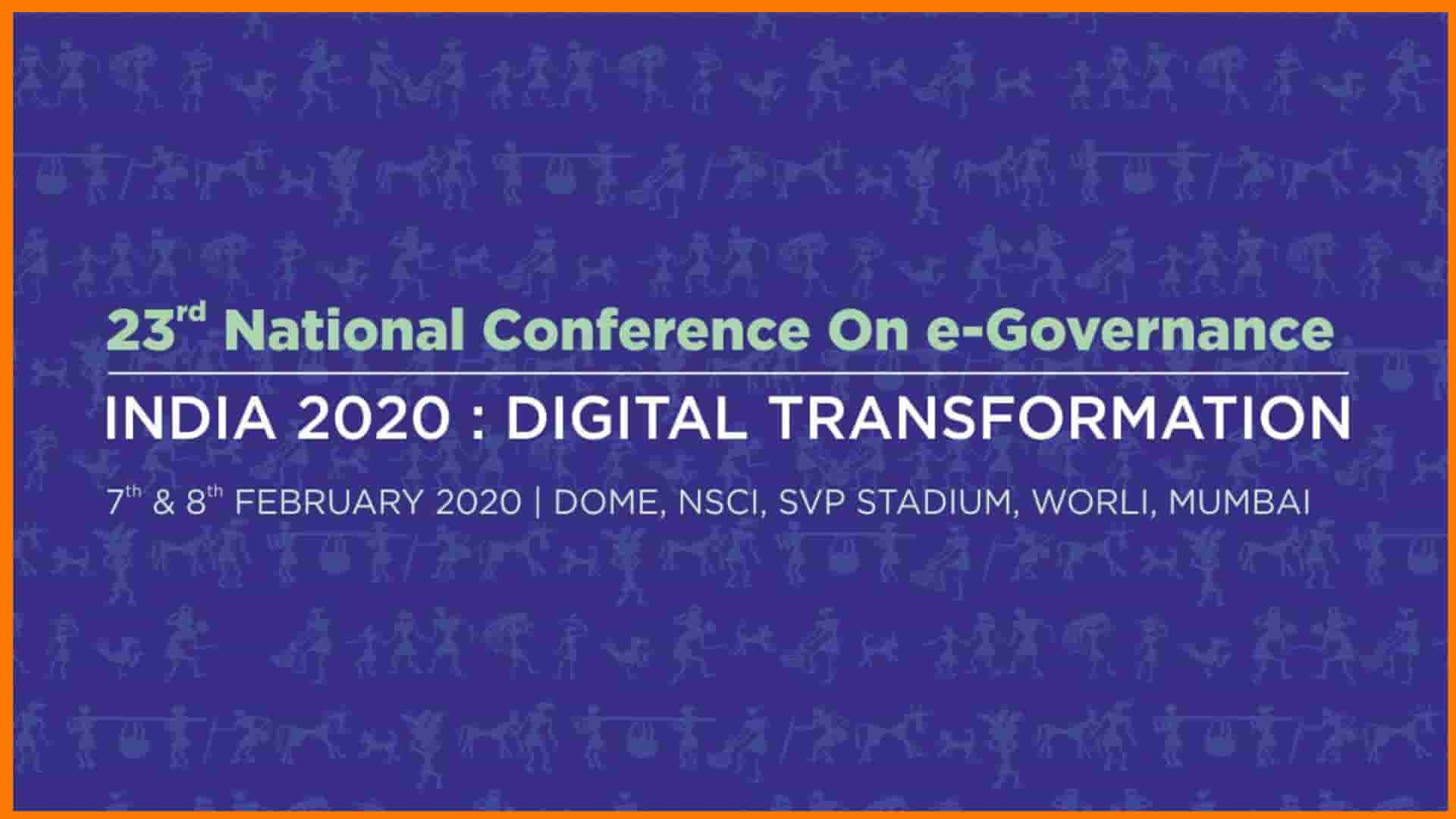 23rd National Conference on e-Governance Starts Today
