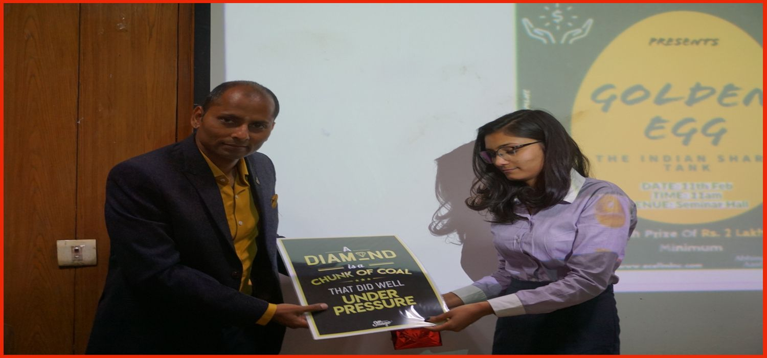 Goldenegg & Moti Lal Nehru College E- Cell Selected 'Sneh-affordable cloth diapers'