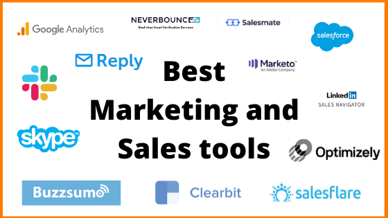Best Marketing and Sales Tools