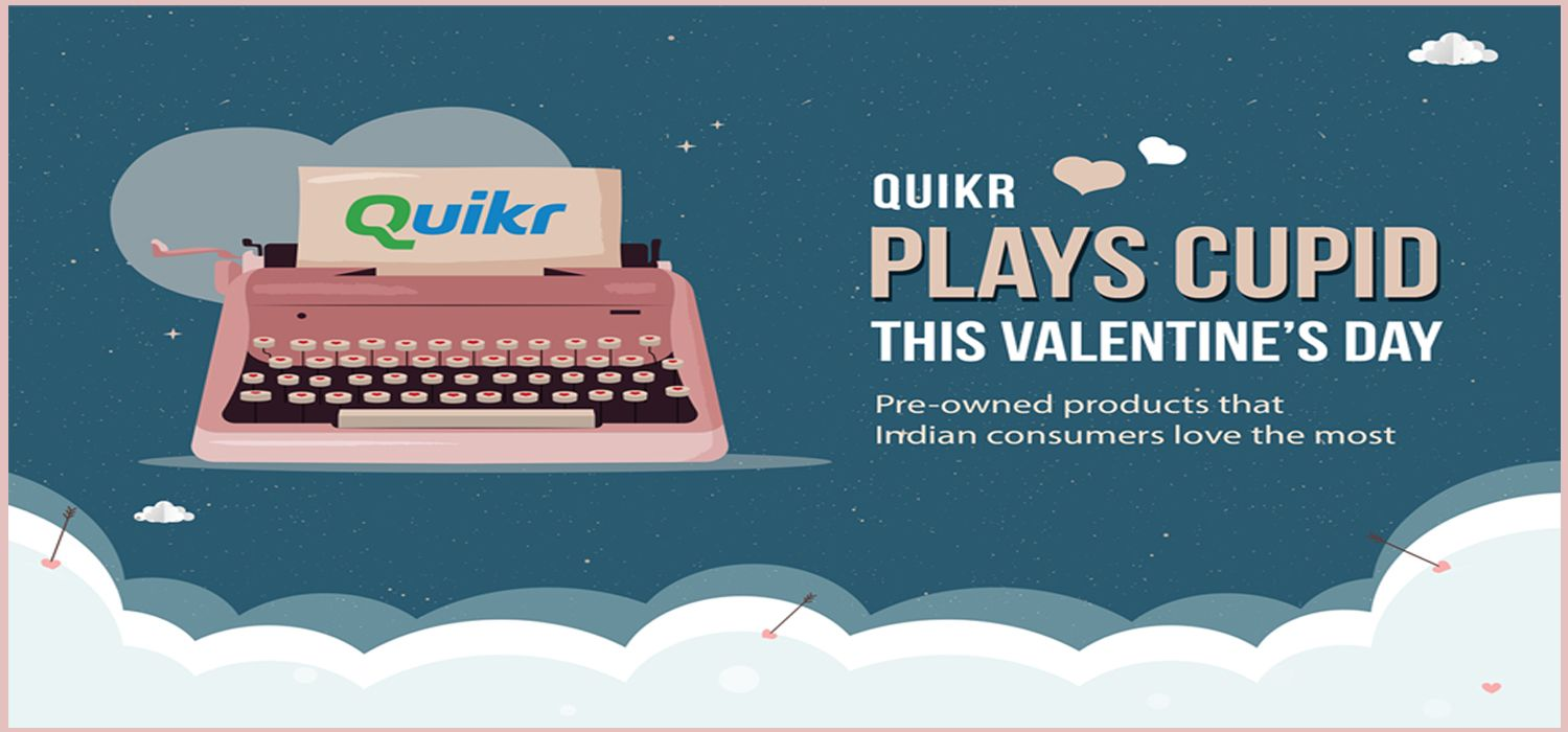QUIKR Plays Cupid this Valentine's Day