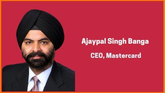 Ajaypal Singh Banga - At The Fore Of MasterCard
