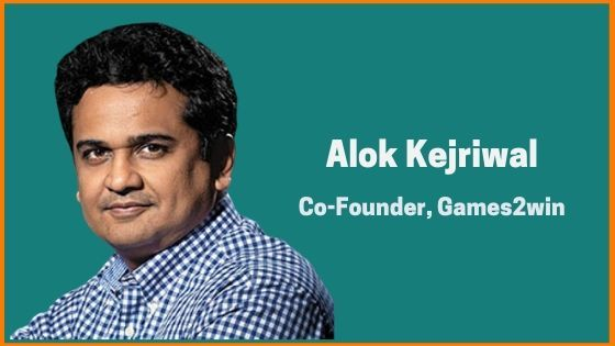 Alok Kejriwal: Co-Founder Of Games2win And An Established Presenter