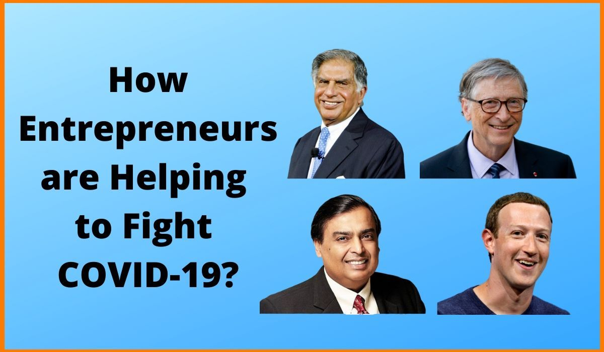 How Entrepreneurs are Helping to Fight COVID-19?