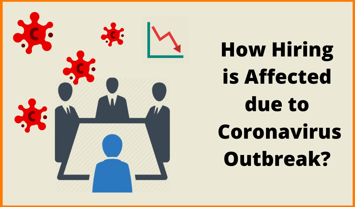 How Hiring is Affected due to Coronavirus Outbreak?