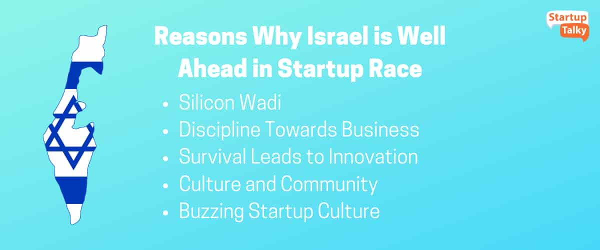 Why Israel is Well Ahead in Startup Race?