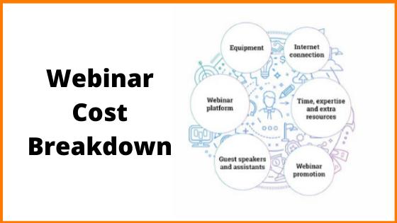 Webinar Cost Breakdown