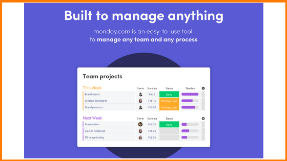 monday.com -Project Management Software