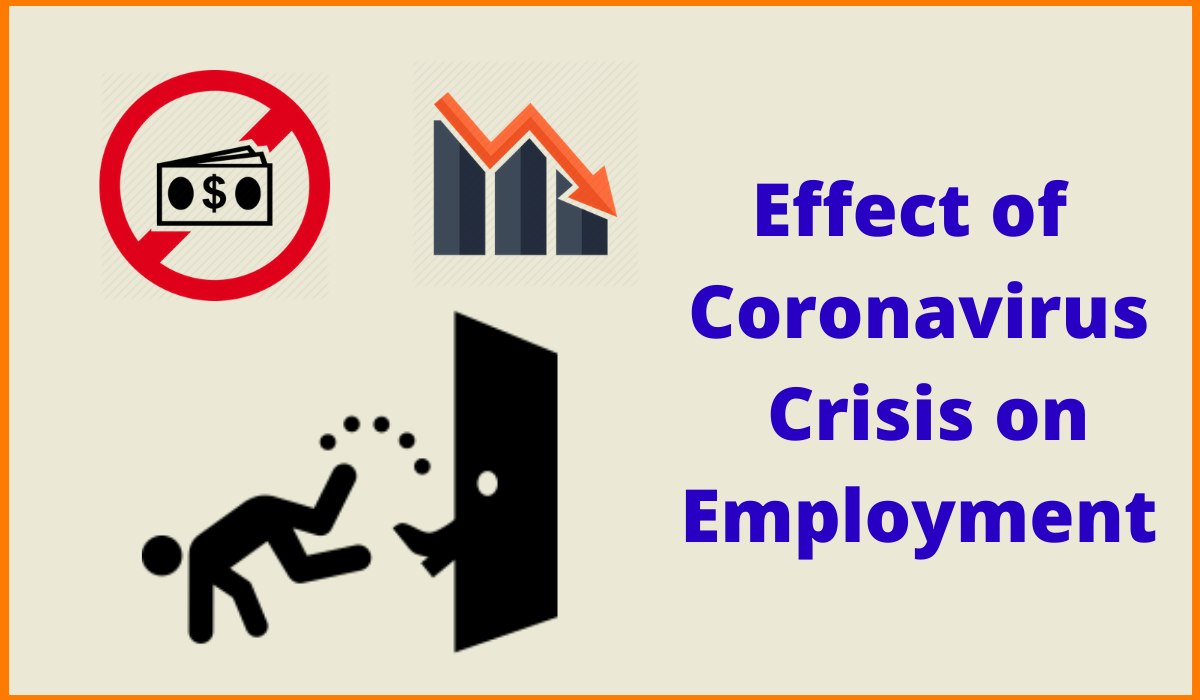 Effect of Coronavirus Crisis on Employment