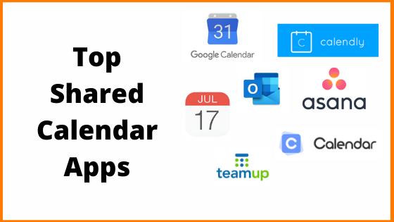 Best Shared Calendar Apps