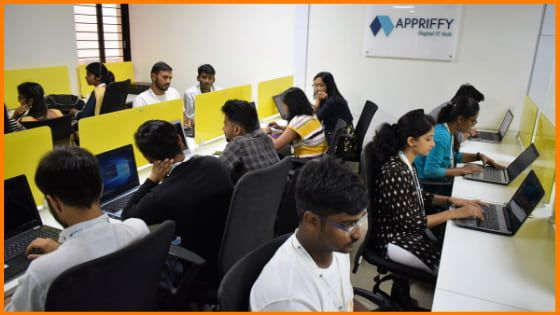 Employees at Appriffy Office