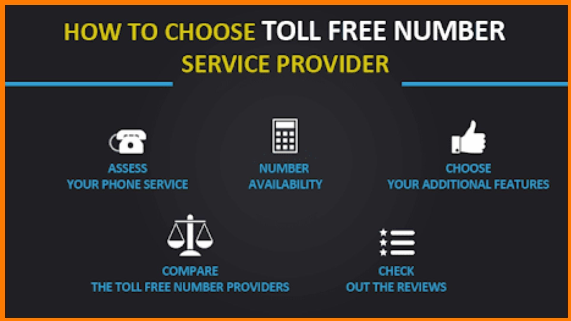 How to choose toll free number service provider?